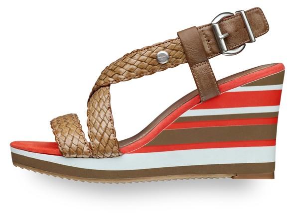 Современность и Ретро - элегантность в линии обуви Tamaris. Изображение № 5.