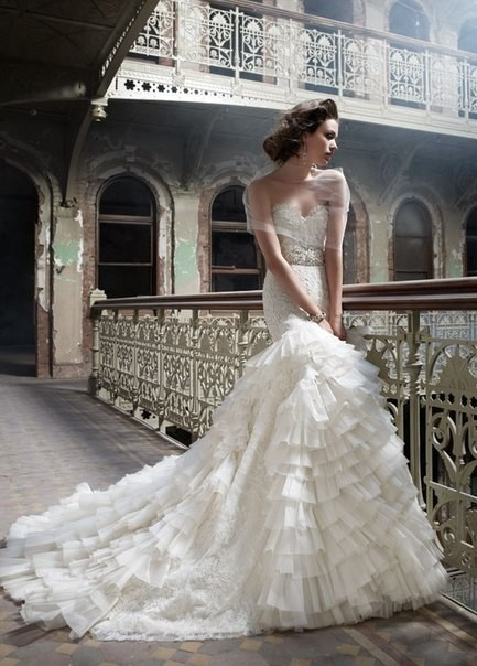 Lazaro Bridal Collection 2012. Изображение № 9.