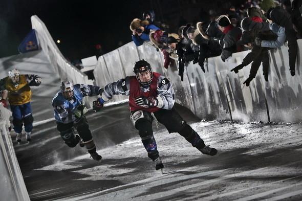 Изображение 9. Финляндия взяла реванш в Москве 26 февраля (Red Bull Crashed Ice 2011).. Изображение № 9.
