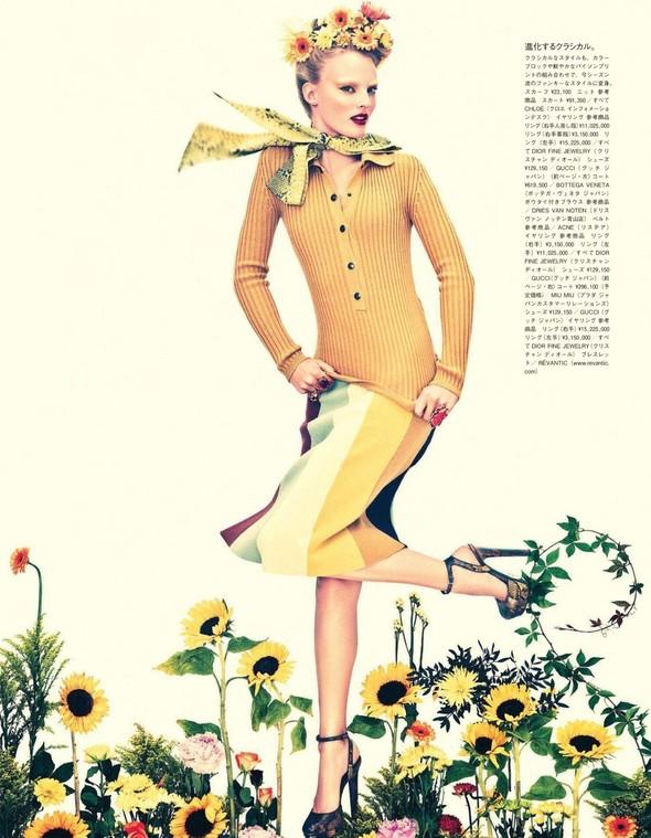 Съёмка: Имре Стикема для Vogue. Изображение № 3.