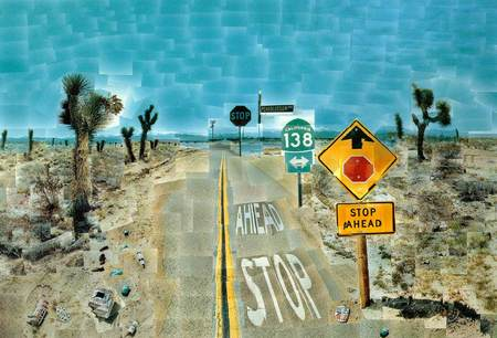 David hockney – Photographic collages. Изображение № 1.