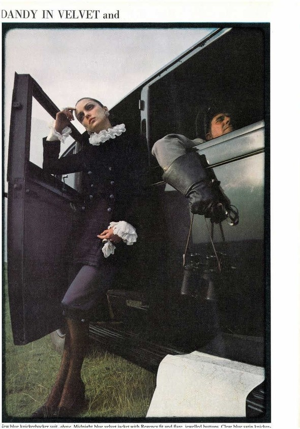 DONNA MITCHELL: Vogue UK, October 1967. Изображение № 7.