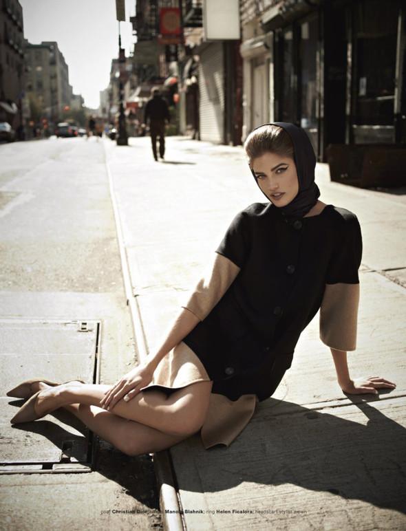 Съёмка: Кендра Спирс для Muse. Изображение № 6.