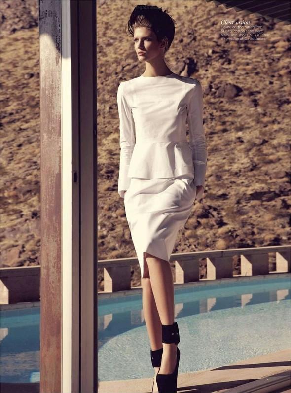 Съёмка: Марло Хорст и Кендра Спирс для австралийского Vogue. Изображение № 15.