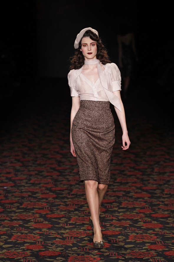 Berlin Fashion Week A/W 2012: Lena Hoschek. Изображение № 18.
