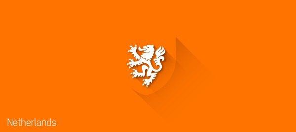 Представлены «плоские» версии гербов национальных сборных . Изображение № 6.