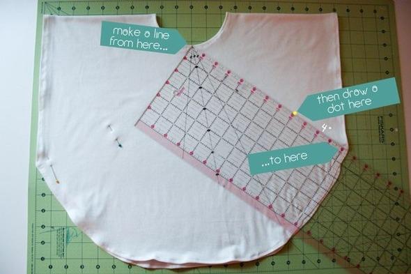 """Как сделать """"Круглую"""" футболку. Изображение № 4."""