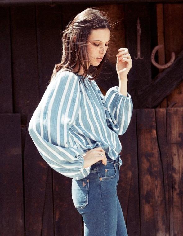 Лукбук: Руби Олдридж для MiH Jeans SS 2012. Изображение № 12.
