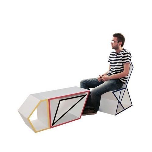 Изображение 1. Вещь: Мебельный комплект-трансформер.. Изображение № 1.