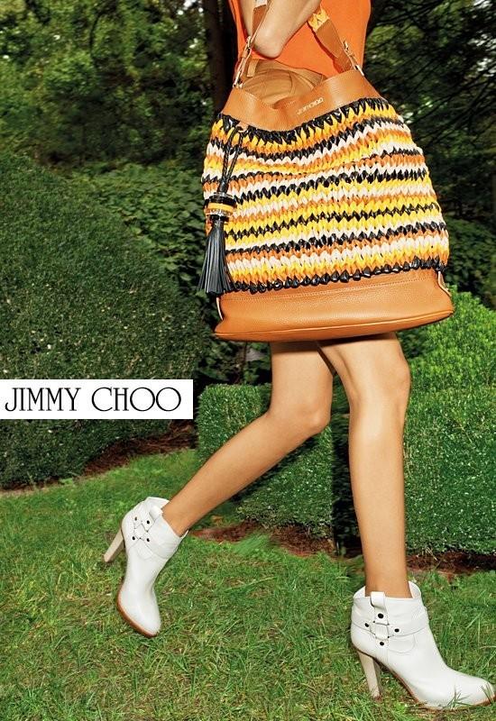 Кампания: Терри Ричардсон для Jimmy Choo SS 2012. Изображение № 6.