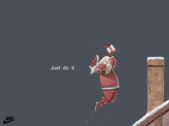 Новогоднее - Рождественский креатив в рекламе. Изображение № 54.