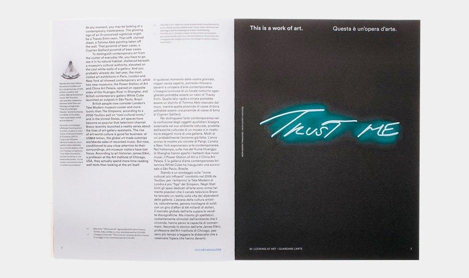 Редакторы Colors о том, зачем перепридумывать журнал от номера к номеру. Изображение № 5.