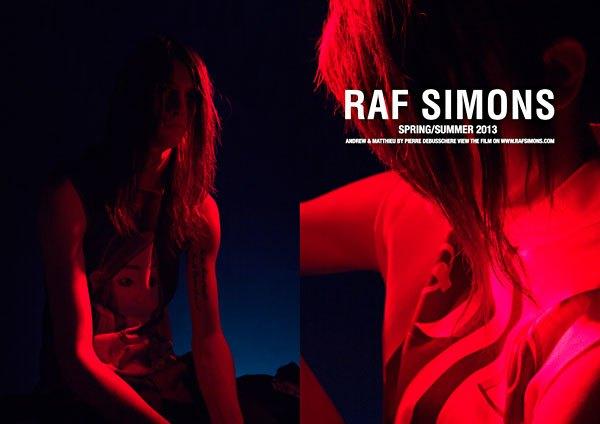 Показана новая кампания Raf Simons. Изображение № 1.