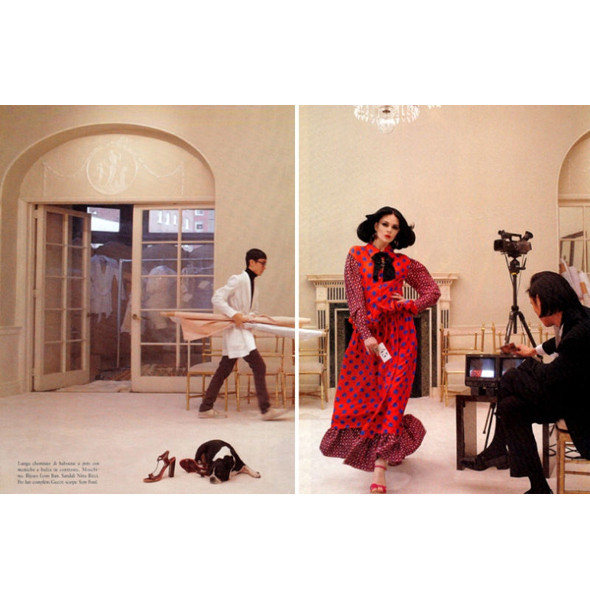 Изображение 53. Съемки: Harper's Bazaar, Metal, V и Vogue.. Изображение № 47.