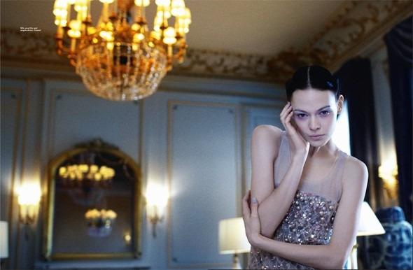Kinga Rajzak by John-Paul Pietrus in Chanel for Harpers Bazaar. Изображение № 7.
