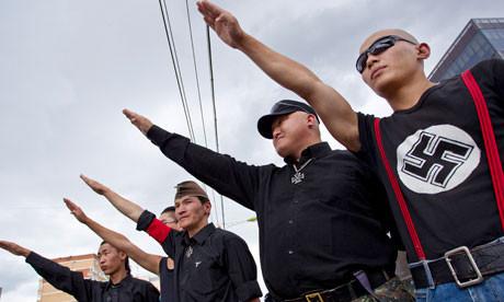 Неонацисты Монголии борются с китайцами. Изображение № 1.