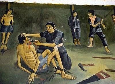 Кхмерский художник Vann Nath. Изображение № 14.