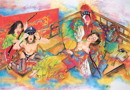 Обзор современного китайского искусства Ч.1. Изображение № 15.