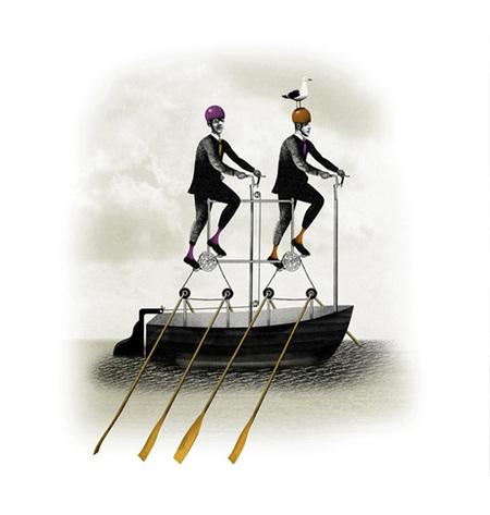 Юношеский Сюрреализм – Иллюстрации Брэтта Райдера. Изображение № 6.
