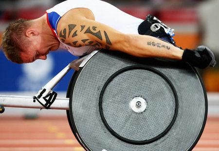 Лучшие фотографии Паралимпийских игр-2008 вПекине. Изображение № 14.