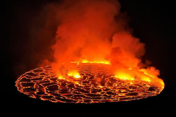 К центру Земли: вулкан Нирагонго в Демократической Республике Конго. Изображение № 1.