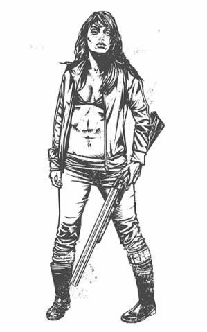 Девушки с оружием от Frank Barbara. Изображение № 17.