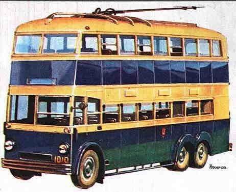 Первые троллейбусы. Изображение № 11.