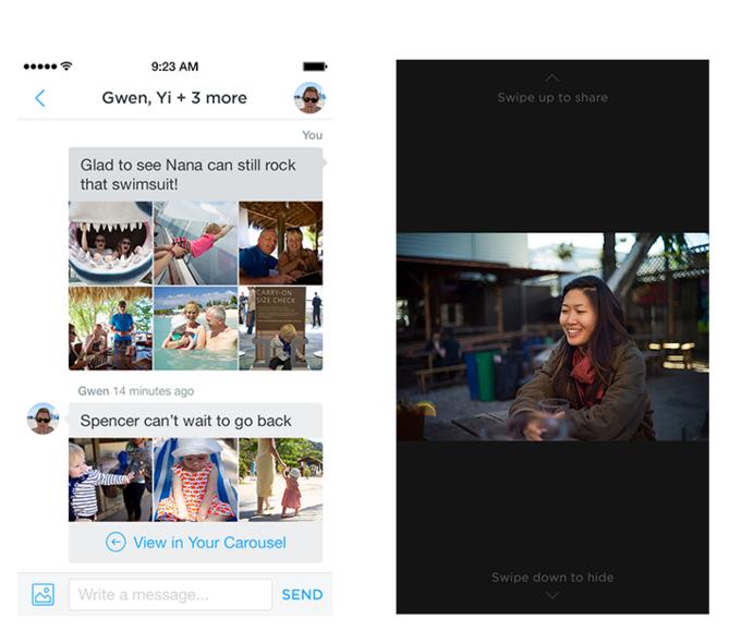 Новое приложение Dropbox организует воспоминания в «облаке». Изображение № 2.