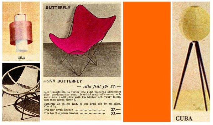 IKEA перевыпустит мебель из каталога середины XX века. Изображение № 2.