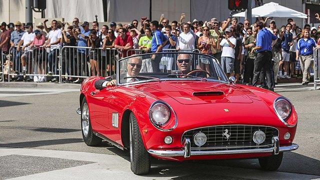 Фото: выставка суперкаров Ferrari в Беверли-Хиллз. Изображение № 1.