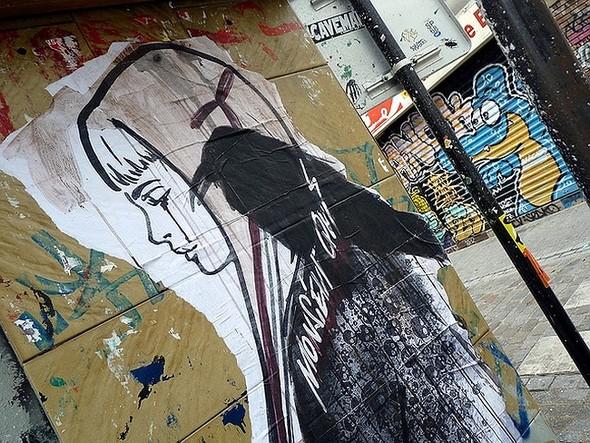 Стрит-арт в Париже. Изображение № 1.