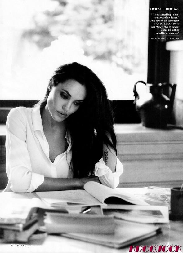 Съёмка: Анджелина Джоли для Vanity Fair. Изображение № 3.