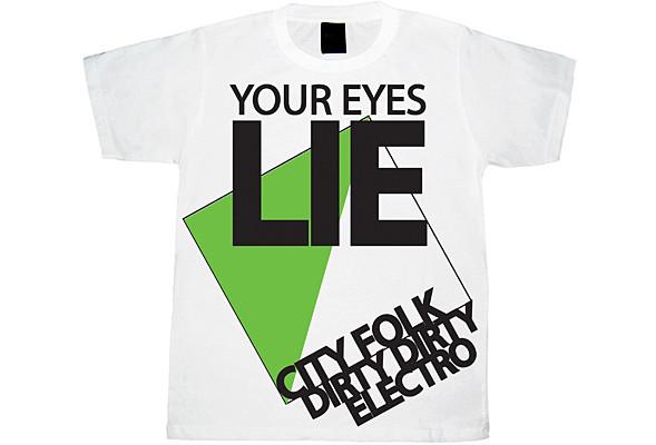 YourEyesLie – новые футболки. Изображение № 7.