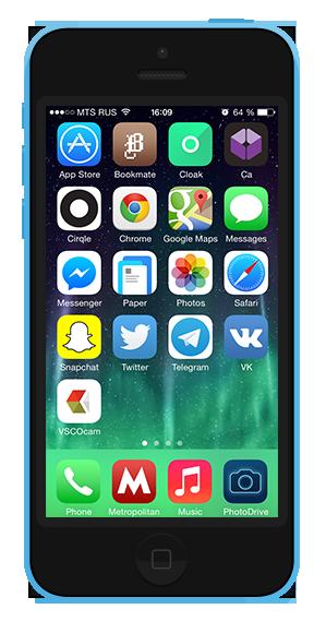 7 удобных способов  организовать иконки  на смартфоне. Изображение № 5.