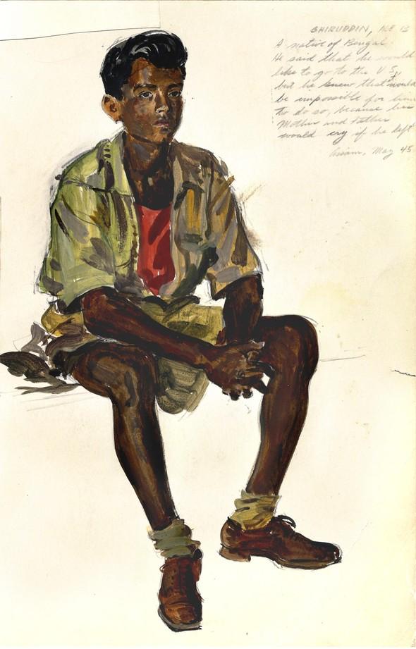 Американские иллюстраторы 40–60гг. ЧАСТЬ 1. Изображение № 33.
