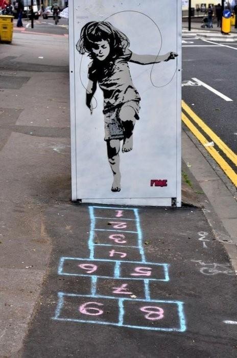 Изображение 29. Бристоль. Художественное граффити.. Изображение № 2.