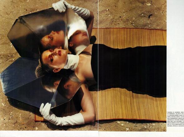 Архивная съемка: 1999 год, Жиневье ван Синус в объективе Марио Сорренти. Изображение № 4.