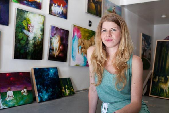Изображение 19. Выставка Vanessa Prager в Лос-Анджелесе.. Изображение № 2.