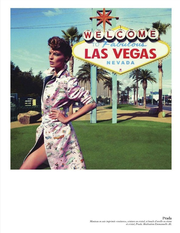 Съёмка: Дарья Вербова для французского Vogue. Изображение № 26.