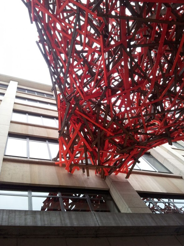 Городская скульптура от Арне Куинзе. Изображение № 12.