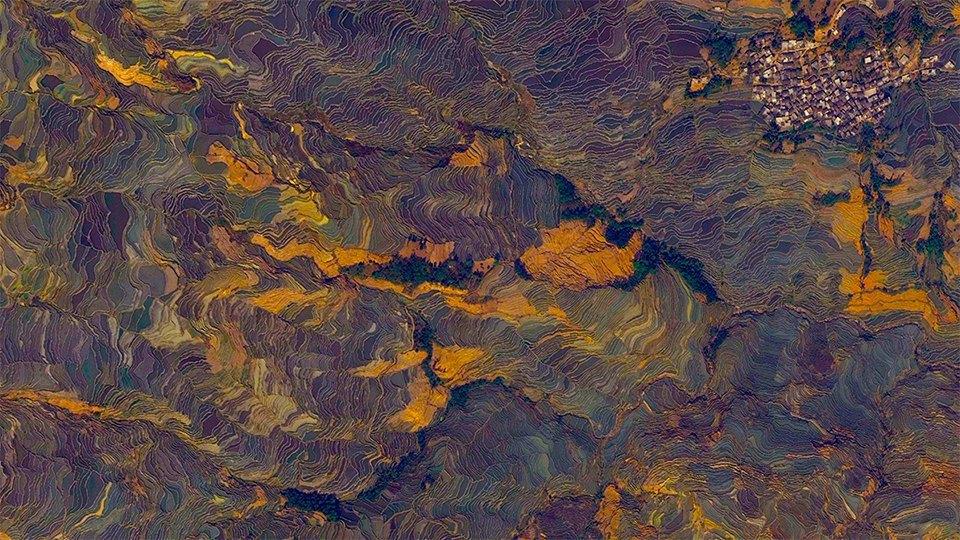 Снимки из космоса, напоминающие о хрупкости природы. Изображение № 22.