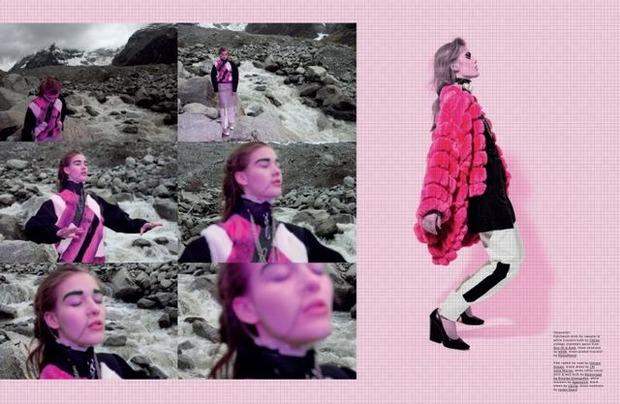 Новые съемки Dazed & Confused, Vogue, Pop и Madame Figaro. Изображение № 28.