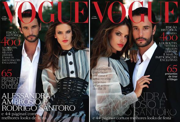 Обложки Vogue: Италия, Испания и Бразилия. Изображение № 2.