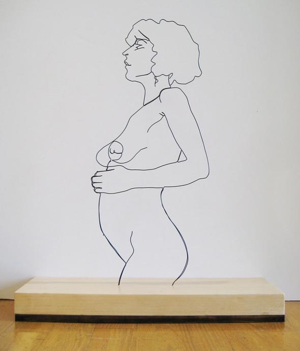 Скульптуры из проволоки Гэвина Ворта. Изображение № 6.