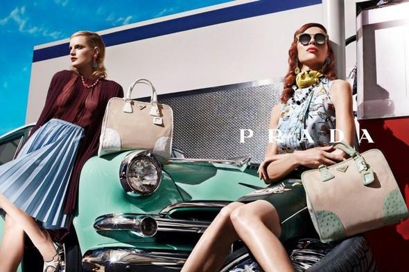 Кампания: Prada SS 2012. Изображение № 10.