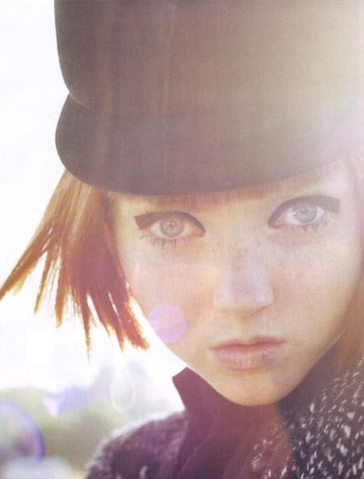 Lily Cole byTim Walker. Изображение № 4.
