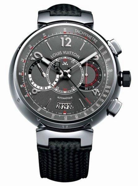 Louis Vuitton Voyagez Tambour Chronograph . Изображение № 35.