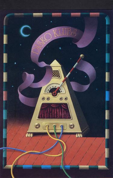 Пластическая экспрессия латышского плаката 70 – 80-егг. Изображение № 21.