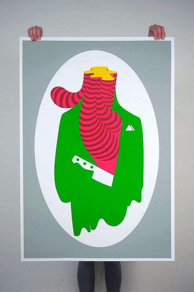 50 постеров, которые вдохновляют заняться шелкографией. Изображение № 27.