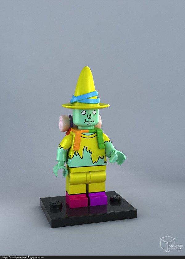 Концепт: персонажи Adventure Time в LEGO. Изображение № 10.